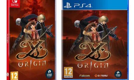 El clásico de culto Ys Origin se estrenará en formato físico para PlayStation 4 y Nintendo Switch el 9 de octubre