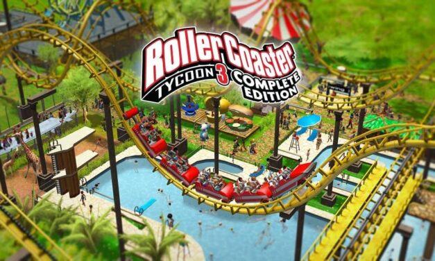 RollerCoaster Tycoon 3: Complete Edition está ya disponible para Nintendo Switch y PC