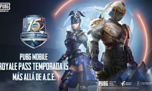 """El Royale Pass de PUBG Mobile """"Más Allá De A.C.E"""" trae elegantes y personalizables recompensas"""