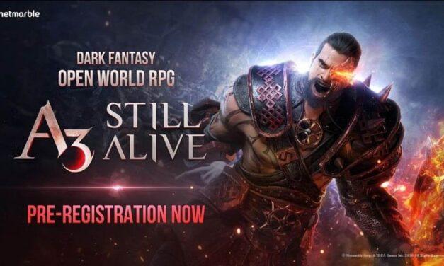 El MMORPG de mundo abierto A3: Still Alive abre su pre-registro