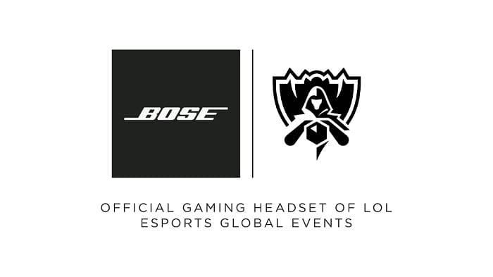Bose será la marca oficial de cascos de los eventos globales de LoL Esports