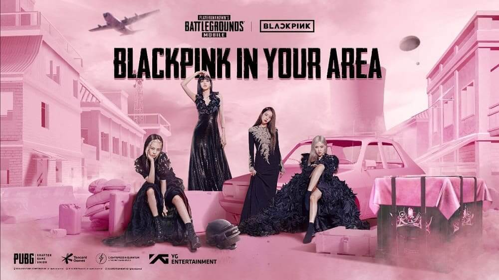 PUBG MOBILE y BLACKPINK anuncian su colaboración exclusiva