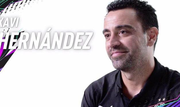 El nuevo icono de FIFA 21 Xavi Hernández repasa con EA SPORTS los grandes hitos de su carrera