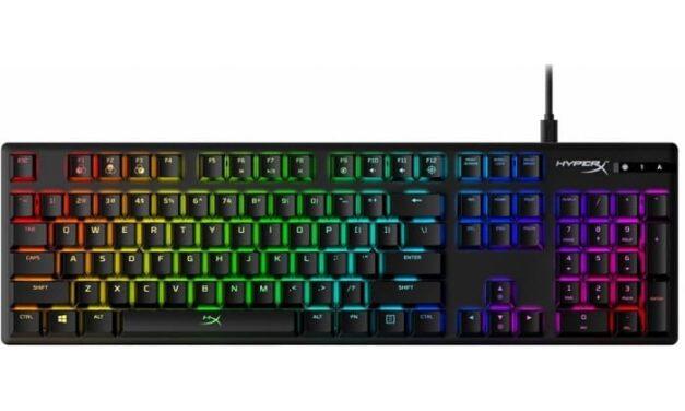HyperX añade switches mecánicos azules a su línea de teclados gaming Alloy Origins