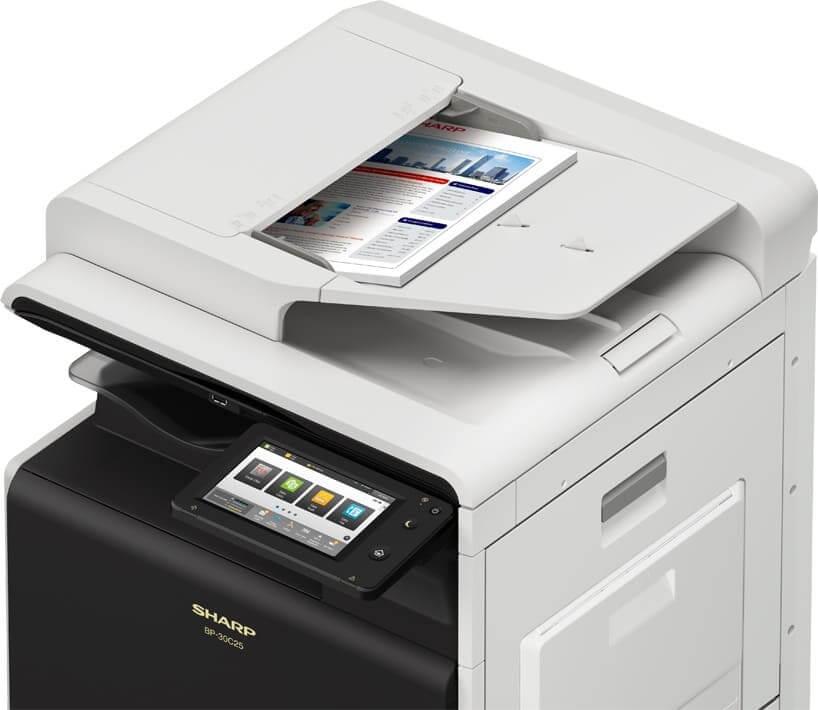 Sharp lanza el equipo multifunción A3 color de menores dimensiones del mercado y funciones de gama alta
