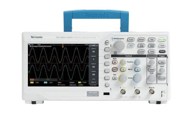 RS Components presenta el nuevo y fácil de usar osciloscopio de almacenamiento digital Tektronix TBS1000C para educación STEM