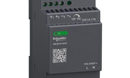 Schneider Electric presenta su gama Modicon de fuentes de alimentación conmutadas