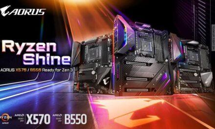 Libera el potencial de los procesadores AMD Ryzen serie 5000 con el BIOS más reciente de GIGABYTE para las placas base AMD serie 500