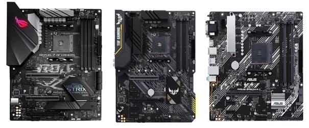 ASUS anuncia las nuevas placas base ROG Strix, TUF Gaming y Prime B450