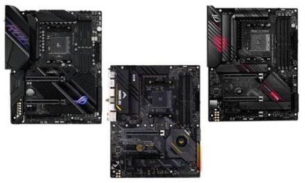 ASUS anuncia actualizaciones BIOS para Zen 3 e introduce tres nuevas placas base