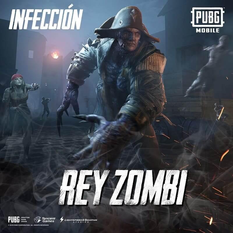 El Modo Infección vuelve a PUBG MOBILE con Zombis de Halloween