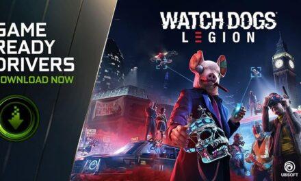 NVIDIA lanza los nuevos controladores Game Ready para Watch Dogs: Legion