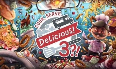 'COOK, SERVE, DELICIOUS! 3?!' se lanzará el 14 de octubre para PC, Switch y Xbox One