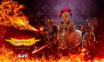 Season V: Legacy of Fire ya está disponible en Conqueror's Blade