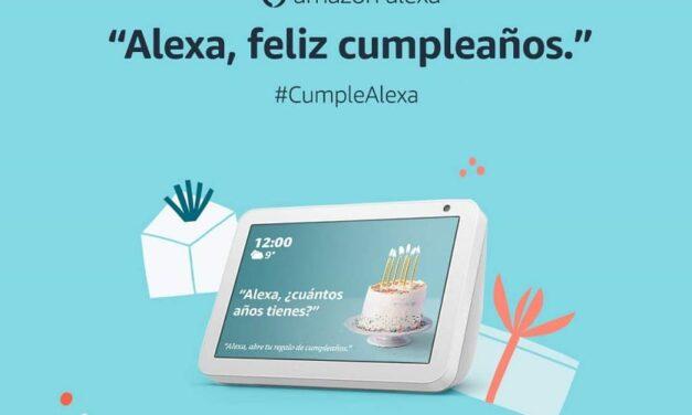 Alexa celebra su sexto año de vida