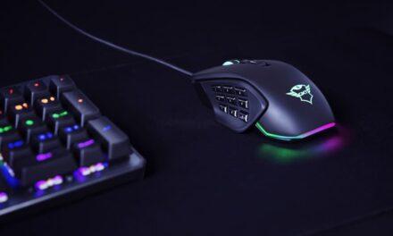 Trust presenta GXT 970 Morfix, un ratón gaming de alta precisión y totalmente personalizable