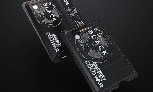 Western Digital presenta una edición especial de drives WD_ Black para el nuevo Call of Duty