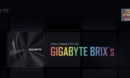 GIGABYTE presenta la mini-PC BRIX de la serie AMD Ryzen 4000U