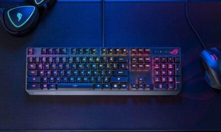 ROG anuncia el teclado Strix Scope RX
