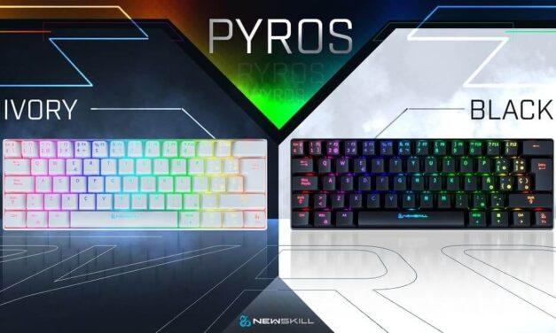 Newskill irrumpe en el mercado de los teclados 60% y sorprende con Pyros, su primer teclado Wireless