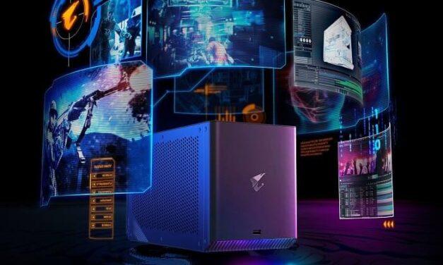 GIGABYTE lanza AORUS RTX 3090/3080 GAMING BOX