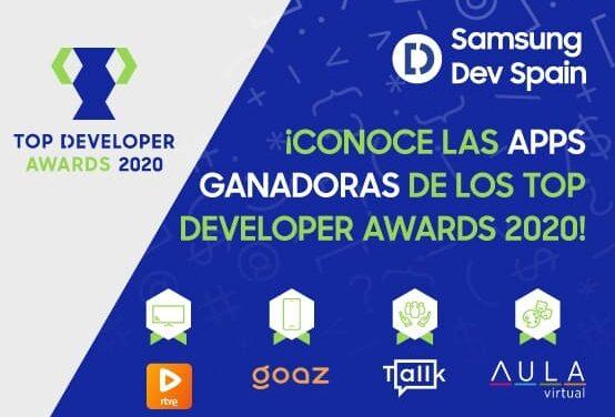 Samsung Dev Spain premia las mejores apps del año