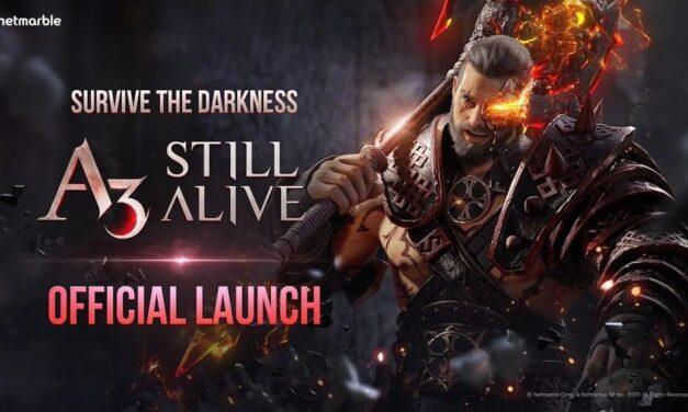 Combinando RPG de acción y Battle Royale, A3: STILL ALIVE llega a dispositivos móviles