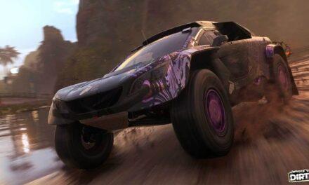 El soporte de volantes de carreras llega con la nueva actualización de DIRT 5