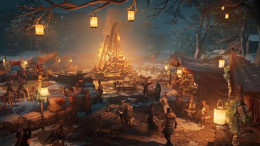 La Temporada del Yule de Assassin's Creed Valhalla comienza hoy con contenido gratuito