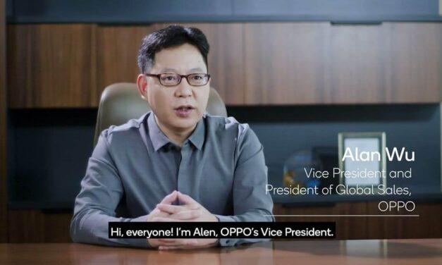 """Alen Wu, vicepresidente de OPPO, participa en la campaña """"5G para todos"""" de Qualcomm, en la que se promueve la adopción masiva del 5G"""
