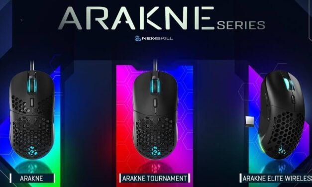 Newskill presenta sus nuevos ratones RGB: Arakne Series, compuesta por tres modelos