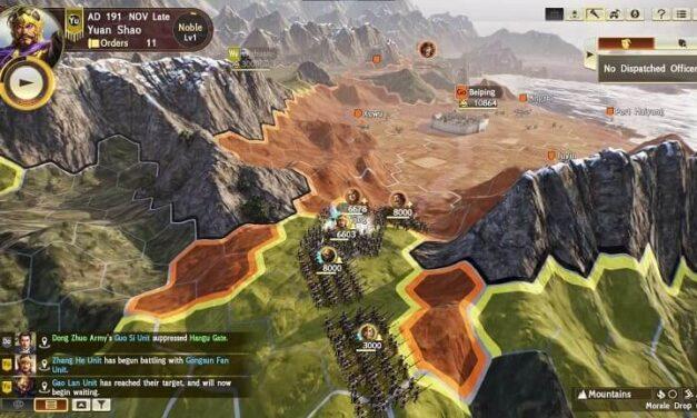 La nueva profundidad estratégica de Romance of The Three Kingdoms XIV: Diplomacy and Strategy Expansion Pack