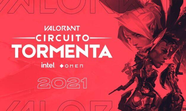 El Circuito Tormenta añade VALORANT como título oficial de la competición para la próxima temporada
