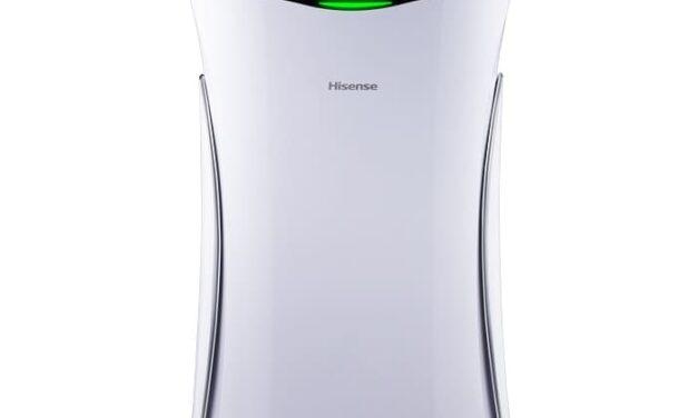 Hisense ofrece la mayor seguridad del aire para esta Navidad con su primer e innovador purificador
