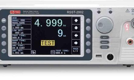RS Components amplía su oferta de RS PRO con una amplia gama de instrumentos de prueba y medida, tanto de mano como para banco de pruebas