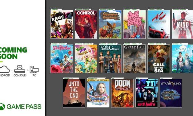 Próximamente en Xbox Game Pass: Control, Doom Eternal, Call of the Sea, oferta navideña (3 meses por 1 euro) y mucho más
