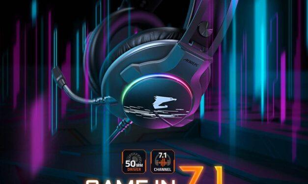 GIGABYTE lanza el nuevo auricular para gaming AORUS H1