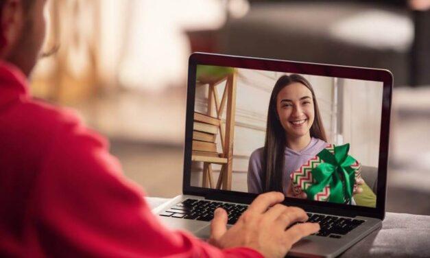 Navidad digital: intercambio festivo de regalos en tiempos de distanciamiento social