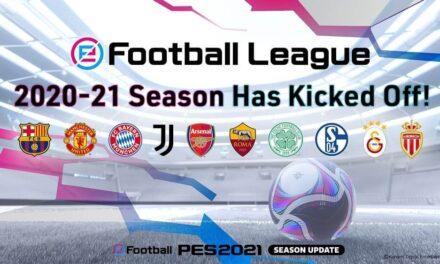 Comienza la temporada 2020/21 de eFootball.League de Konami