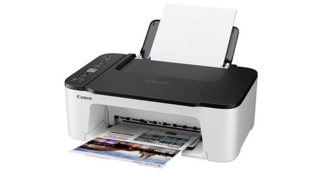 Imprime, escanea y haz copias sin esfuerzo con la Serie PIXMA TS3450 de Canon, una impresora de entrada de gama compacta y fácil de usar