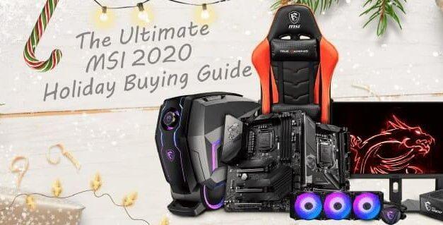 La guía definitiva de regalos MSI para la Navidad de 2020