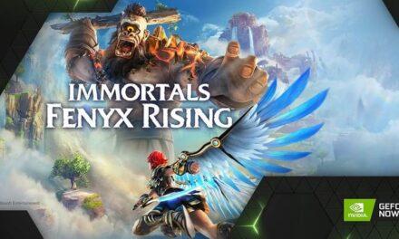 Immortals Fenyx Rising llega a GeForce NOW