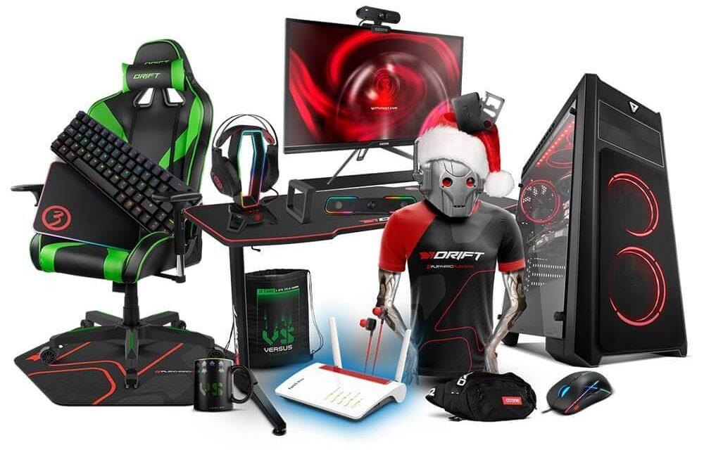 VS Gamers sortea un setup gaming compuesto por un Versus PC y periféricos gamers valorado en más de 2500 €