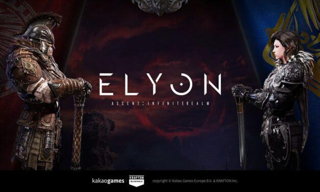 El MMORPG Elyon pone en marcha su página web