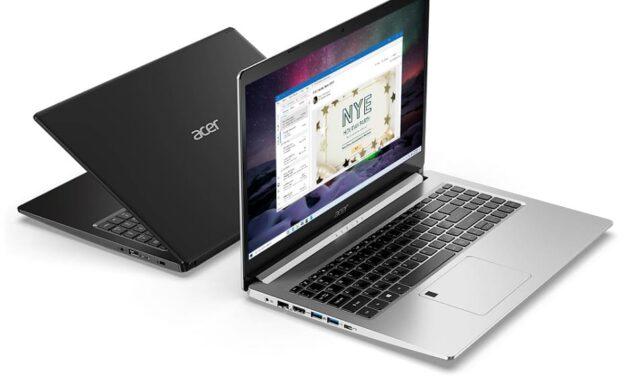 Acer presenta portátiles Nitro y Aspire con los nuevos procesadores móviles AMD Ryzen serie 5000; la serie Nitro también incluyen las nuevas GPU para portátiles NVIDIA GeForce RTX serie 30