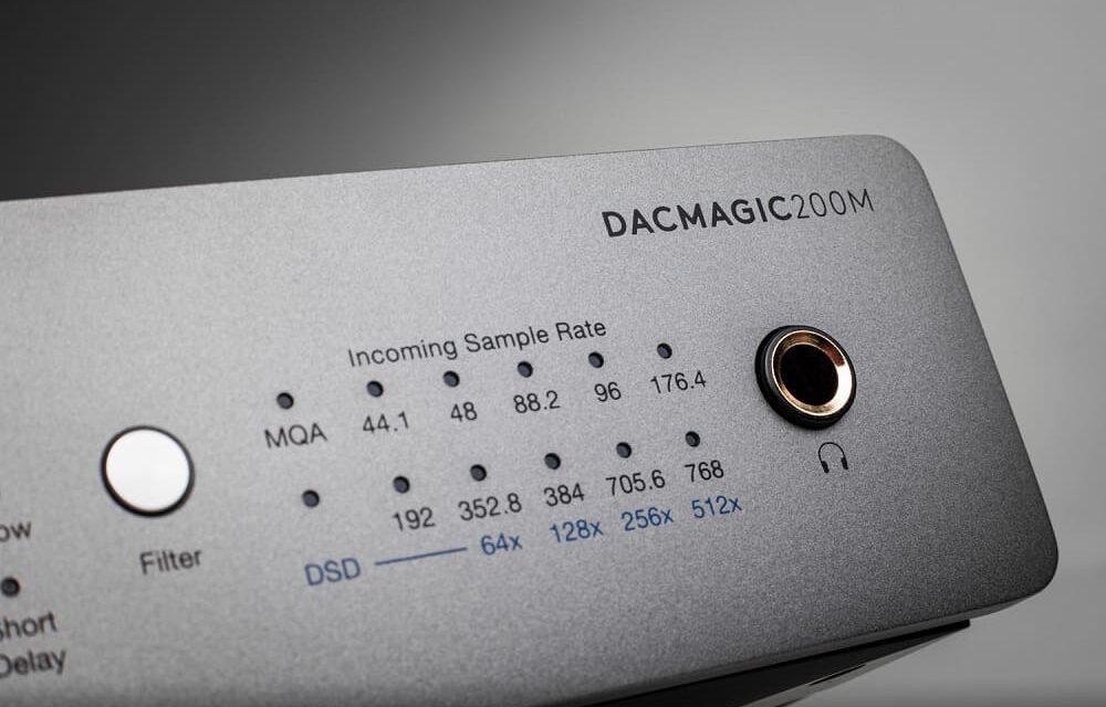 Cambridge Audio DacMagic 200M: El siguiente paso de la galardonada tecnología de conversión D/A