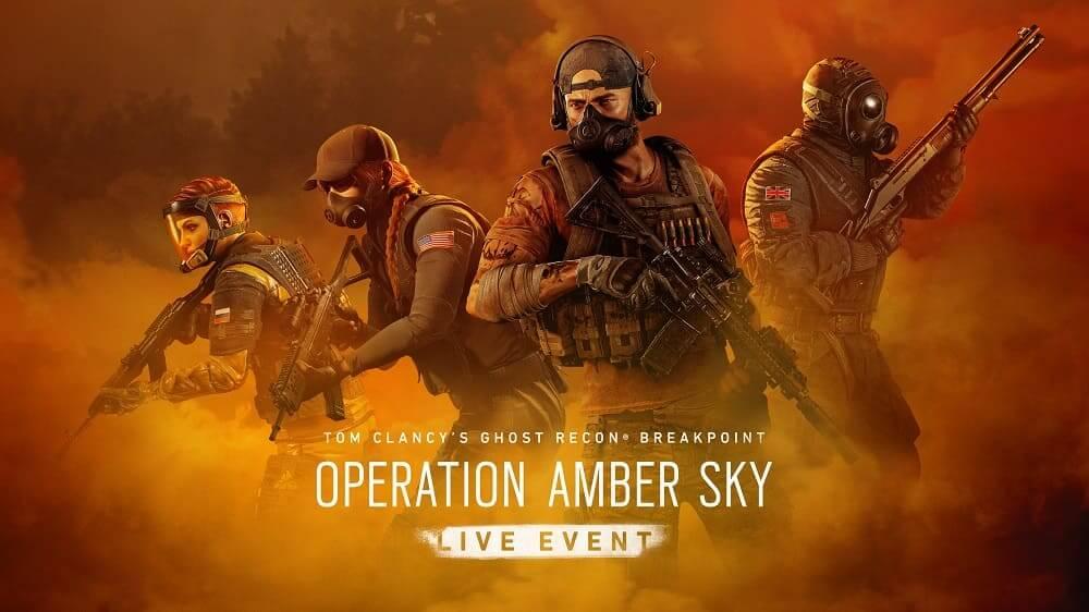 """Ghost Recon Breakpoint anuncia """"Operación Cielo Ámbar """", un evento crossover con Rainbow Six Siege que llegará el 21 de enero"""