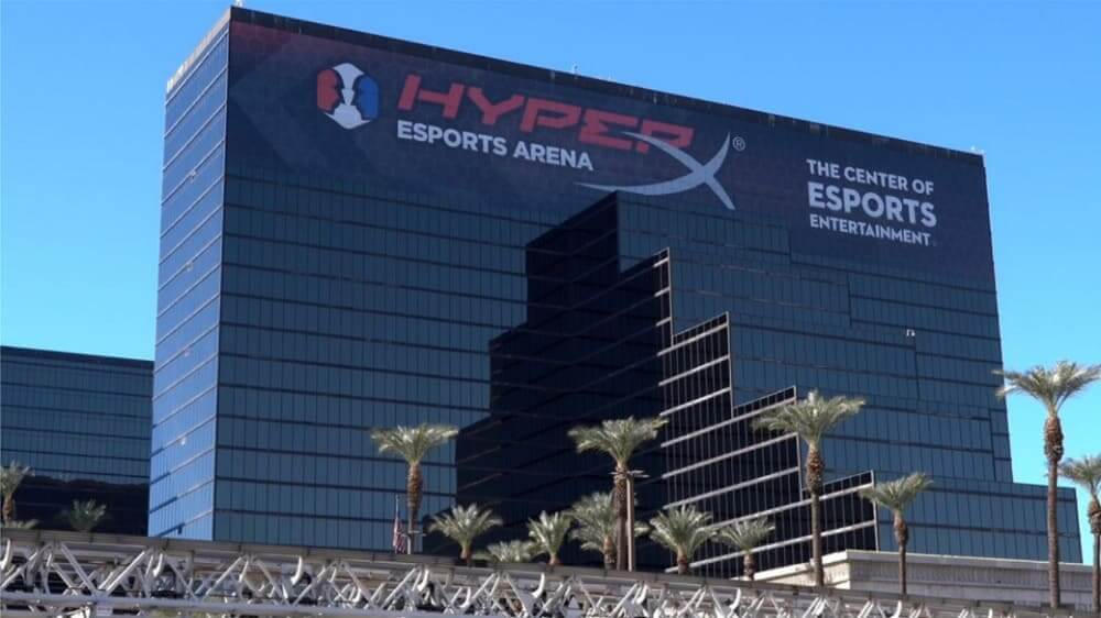 HyperX y Allied Esports renuevan el acuerdo de derechos de nombre para HyperX Esports Arena Las Vegas