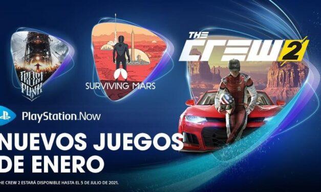 The Crew 2, Surviving Mars y Frostpunk entre las novedades de PlayStation Now en enero