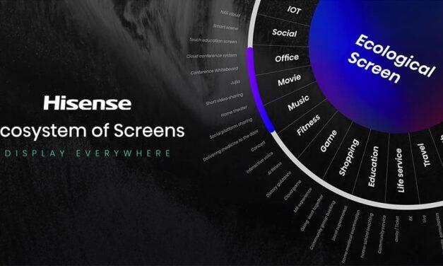 Hisense abre una nueva era con el anuncio del TriChroma Laser TV